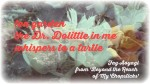 Dolittle April 7 2014