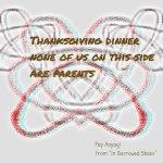 Thanksgiving dinner (Nov 2, 2015)